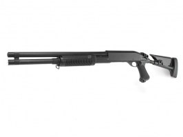 Airsoft shotgun M870 with the tactical NYLON stock, long, METAL (CM.353LM) [CYMA]