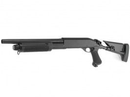 M870 shotgun with the tactical ABS stock, short, METAL (CM.353M) [CYMA]