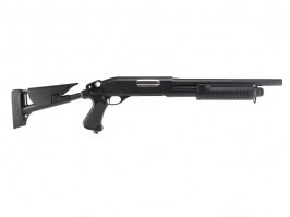Airsoft shotgun M870 with the tactical ABS stock, short (CM.353) [CYMA]