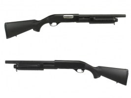 M870 shotgun with the ABS solid stock, short, METAL (CM.350M) [CYMA]