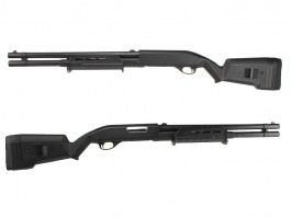 MAP style M870 Shotgun, long, ABS (CM.355L) - BK - UNRELIABLE