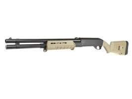 Airsoft MAP style M870 Shotgun, long, ABS (CM.355L) - TAN [CYMA]
