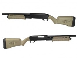 Airsoft MAP style M870 Shotgun, short, METAL (CM.355M) - TAN - UNRELIABLE