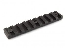 RIS mount (rail) for KeyMod mount - 95mm, 9 slots - black [CYMA]