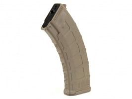 AK Hi-Cap Wheel AEG DMAG Magazine - 550 rounds, TAN