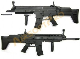SCAR-L - black (SC-01, BY-803B) - UNFUNCTIONAL