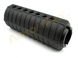 Solid plastic foregrip for M4 serie