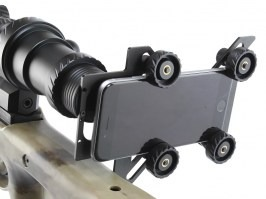 Rifle scope universal phone adapter [Discovery]