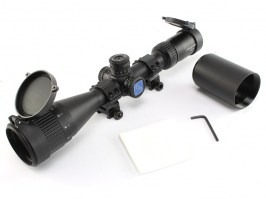 Rifle scope VT-R 3-12X42 AOE HMD SFP IR-MIL, Illuminated [Discovery]