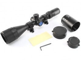 Rifle scope VT-Z 3-12x44 AOE 1/2 Mil-Dot, Illuminated [Discovery]