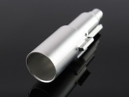 Aluminium CNC loading nozzle for TM M9 [Dynamic Precision]
