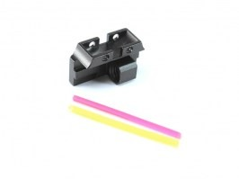 Fiber optic rear sight  for TM Hi-Capa [Dynamic Precision]