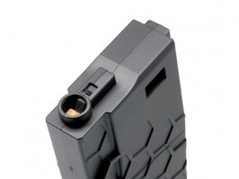Mid-Cap 120 rds Hexmag ECO magazine for M4 AEG - Black [Dytac]