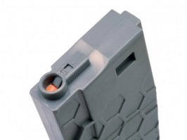 Mid-Cap 120 rds Hexmag ECO magazine for M4 AEG - Grey [Dytac]