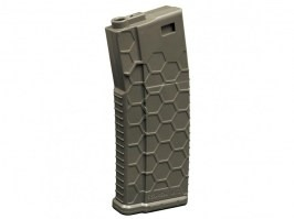 Mid-Cap 120 rds Hexmag ECO magazine for M4 AEG - Olive drab [Dytac]