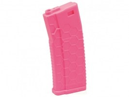 Mid-Cap 120 rds Hexmag ECO magazine for M4 AEG - Panther pink [Dytac]
