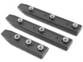 Metal rails for Keymod foregrips - 3 pcs [E&C]