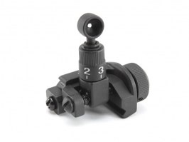 Rear metal folding KAC sight for RIS rails [E&C]