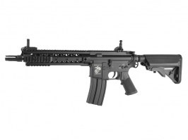"Airsoft rifle SR16-E3 URX3 10""with accessories - black (EC-317P) [E&C]"