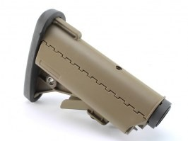 VLTOR M4 battery stock with extension tube - FDE  [E&C]