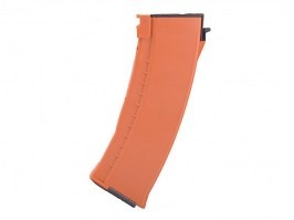 120 rounds AK74 style mid cap magazine - orange [E&L]