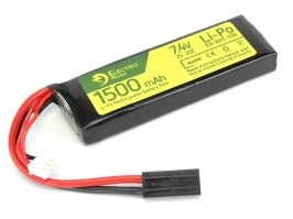 Battery Li-Po 7,4V 1500mAh 25/40C [Electro River]