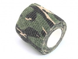 Camo cotton tape 2m - Woodland [Element]