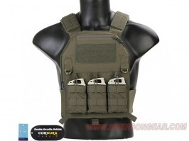 419 Plate Carrier Tactical Vest - Ranger Green (RG) [EmersonGear]