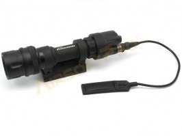 952V LED Tactical Flashlight - BK - UNFUNCTIONAL
