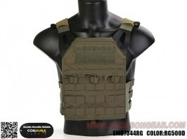 Blue Label Jumer Plate Carrier With Triple M4 Pouch and dummy ballistic plates - RG [EmersonGear]