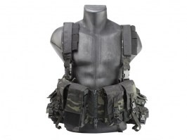 Emerson Chest Rig LBT 1961A-R - Multicam Black [EmersonGear]