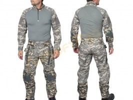 Tactical suit set Digital ACU with pads [EmersonGear]