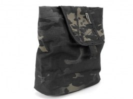 Empty magazine ammo folding dump bag - Multicam Black [EmersonGear]