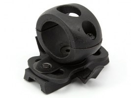 Helmet flashlight mount - BK [EmersonGear]