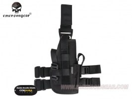 Drop Leg Universal holster - Black [EmersonGear]