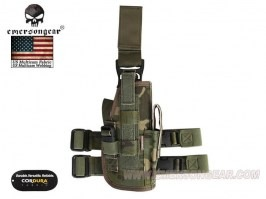 Drop Leg Universal holster - Multicam Tropic [EmersonGear]