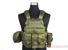 LBT6094A Plate Carrier With 3 Pouches - Multicam Tropic [EmersonGear]