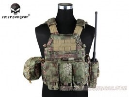 LBT6094A Plate Carrier With 3 Pouches - Mandrake [EmersonGear]