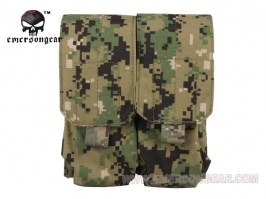 LBT Style M4 Double Magazine Pouch - AOR2 [EmersonGear]
