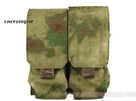 LBT Style M4 Double Magazine Pouch - Atacs FG [EmersonGear]