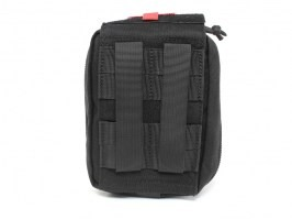 Military first aid kit pouch- black [EmersonGear]
