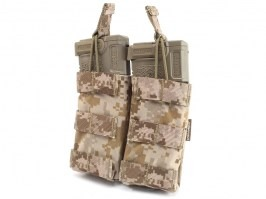 Modular Open Top Double MAG Pouch - AOR1 [EmersonGear]