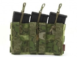 Modular Open Top Triple MAG Pouch - A-TACS FG [EmersonGear]