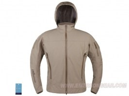Outdoor light tactical soft shell jacket - DE [EmersonGear]