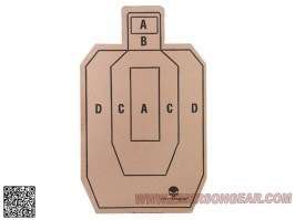 Paper Shooting Target -10 inches - 5 pieces [EmersonGear]