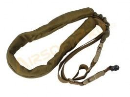 Bungee single point sling with QD mount - TAN [A.C.M.]