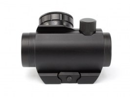 T1 Red Dot Sight Replica with increase Picatinny rail mount - black [EmersonGear]