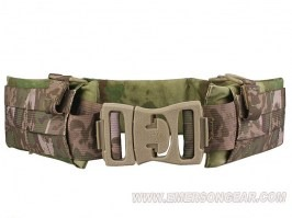 Tactical Padded Patrol MOLLE belt - A-TACS FG [EmersonGear]