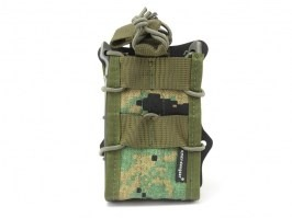 Double modular rifle magazine pouch - Digital Woodland / Marpat [EmersonGear]