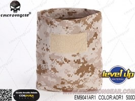 Empty magazine ammo folding dump bag - AOR1